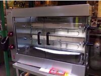 COMMERCIAL CATERING UNTOUCHED NEW ROTISSERIE GRILL LPG GAS CUISINE DINING RESTAURANT FASTFOOD BAR