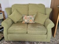 Two Seater 'Amelie' Sofa made by Devonshire Sofas in Budleigh Salterton. Child &Pet Free Home