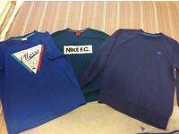 Free Desinger Branded S/M Adidas, Nike, Ellesse, Tops jumper and tracksuit bottoms