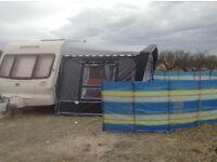Bailey Senator Wyoming touring caravan