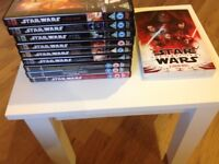 Star Wars Dvd Collection for sale  Glasgow