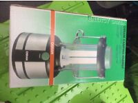Camping lantern, battery operated. Osram make. Brand new in box.