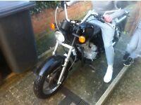 125 learner legal motorbike