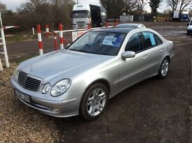 Mercedes Sport E320 Avantgarde Diesel Automatic with FSH.