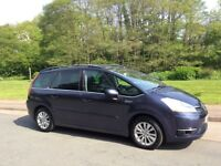 CITROEN C4 GRAND PICASSO EXCLUSIVE DIESEL. SEVEN 7 SEATER. ONLY 80,000 MILES.