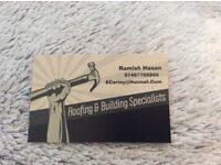 Roofing & building specialists, 07497766945, OVER 20 YEARS EXPERIENCE