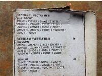 Vauxhall vectra brake pads