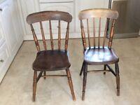 Kitchen chairs.