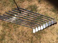 John Letters Golf Clubs.