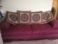 Large Sofa plus 2 armchairs