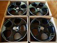 NEW 18'' Genuine OEM VW Golf Mark5 GTI Alloy wheels - Monza - Black edition