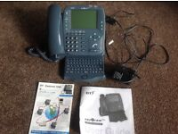 BT easicom 1000 interactive phone, faxes, emails, keyboard bargain £15
