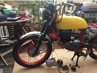 Suzuki GP100 *COMPLETE BIKE* Unfinished Project plus lots of parts