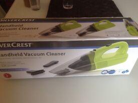 NEW Silvercrest Handheld Vacuum Cleaner