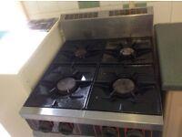 LPG Cooker. Free. Fantastic hob, oven not working.