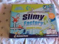 Slimy factory slippery slugs