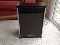 Vintage Technics SY-T15 Keyboard Amplifier & Speaker - Excellent Condition and Fully Tested