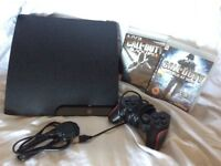 SONY PS3 CONSOLE INCLUDING 3 Good games