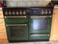 Rangemaster leisure double overn, racing green