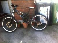 24 Severn dark angel downhill bike, will swap for a pitbike