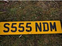 Private Plate S555NDM