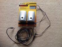 Sony stereo speaker system