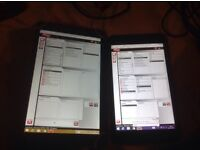 2x CAR DIGANOSTIC TABLET WITH DELPHI WOW AND VCDS