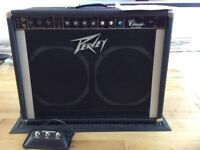 Peavey Classic Amp. C/w foot switch