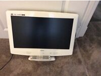 """Hardly used to and DVD in excellent condition 22"""" screen"""