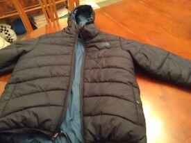 Boys North Face Puffer Coat
