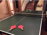 Butterfly table tennis table,net,etc excellent