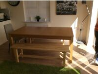 Big IKEA Table - Extendable to seat 10