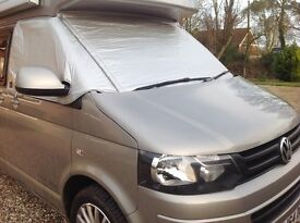 VW T5 insulated Silver screens