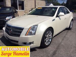 2009 Cadillac CTS 3.6L AWD toit electrique