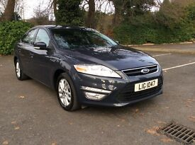 OCT 2012 Ford Mondeo Zetec Tdi 140 Full Service History Company Car! Must Be Seen!