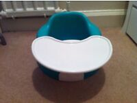 Bumbo with tray table