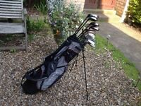 GOLF CLUBS SLAZENGER (LEFT HANDED ) COMPLETE SET EXCELLENT CONDITION