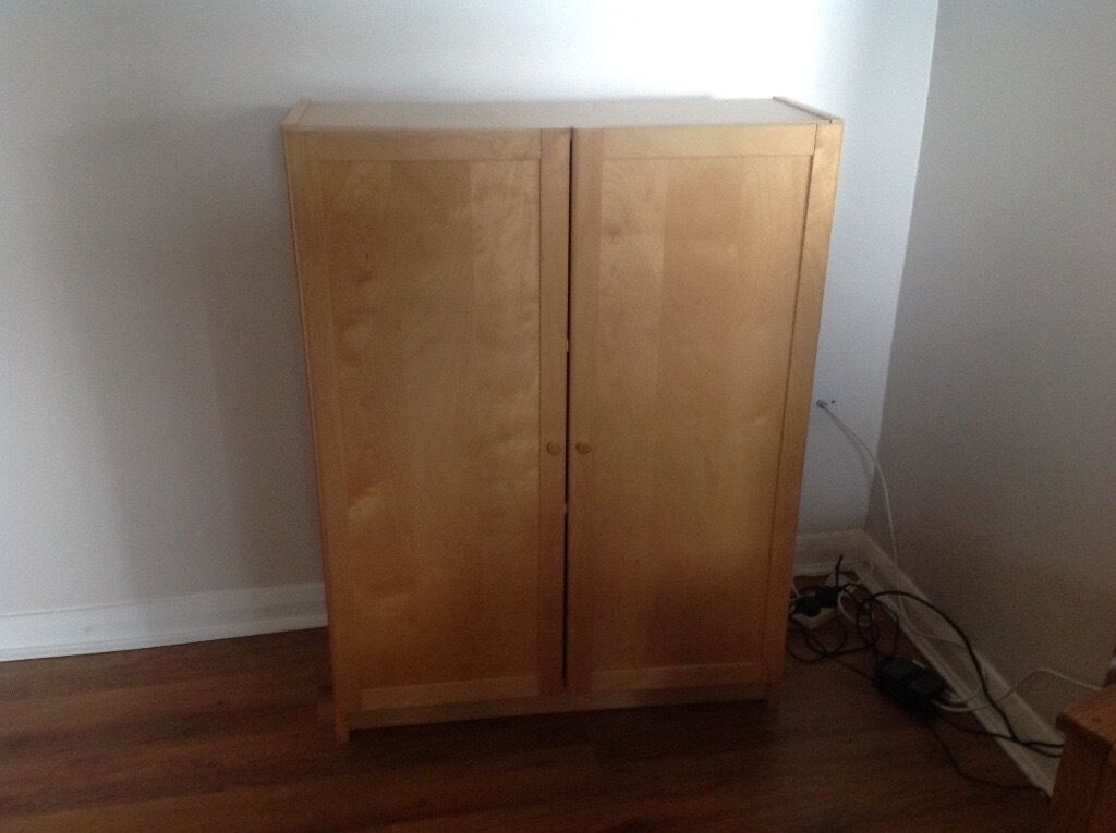 Bookcases, Tables, TV unitsin Umberleigh, DevonGumtree - Selection of used Ikea furniture. Birch effect unless stated otherwise. Generally in reasonable condition although colour has darkened in places over the years. Ideal for first home or holiday home. Dimensions W x D x H in cm. Selection comprises 1 x...