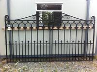 Cast Iron Gates and Railing