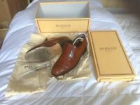 Very smart men's Barker's brown slip on shoes. Size 9 G fitting