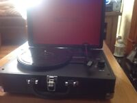Prosound Portable Turntable Briefcase Style