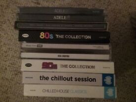 Various music CDs inc 1980s, Chillout, George Michael and many others. £20 for the lot or £1 each.