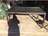 New patio table. Never used