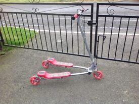 Red Slider Scooter