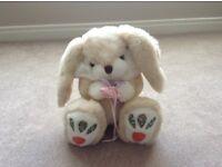 Fluffy Bunny Soft Toy
