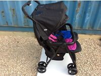 Joie twin pushchair from birth