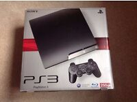 Sony Playstation 3 Slim, 250 GB. 2 Controllers & 2 Games. Mint Condition!