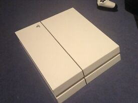PS4 good condition with box and one controller