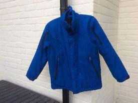 Boys blue coat aged 13 - 14