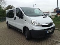 Vauxhall vivaro 2.0 diesel 9 seats 2012 only £11450 NO VAT
